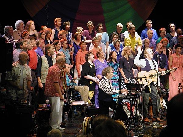 Haines & Leighton with Open Voices Choir, Kingston